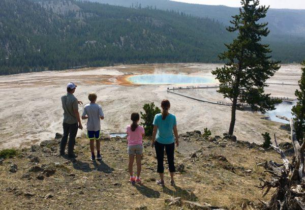 Grand Prismatic Springs, Yellowstone