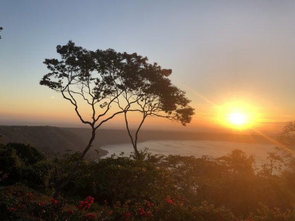 Sunrise at Pacaya Lodge, Nicaragua