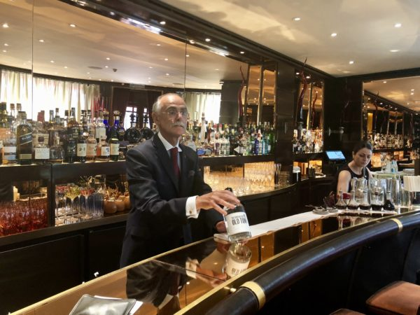 The Dorchester has its own private label gin