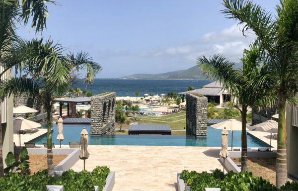 Adults pool at the Park Hyatt St. Kitts