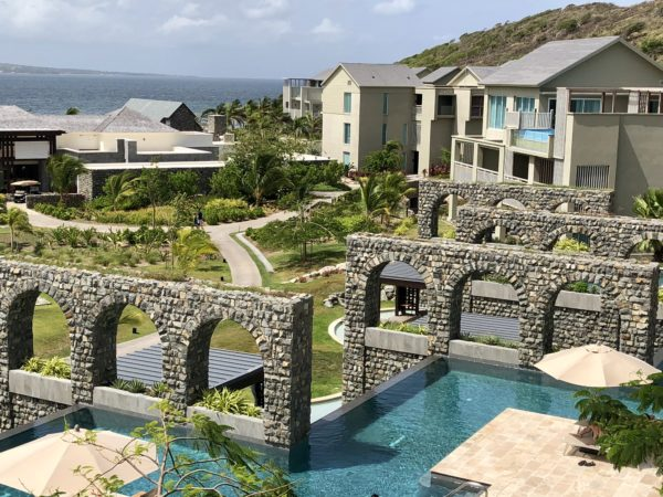 View from the Park Hyatt St. Kitts