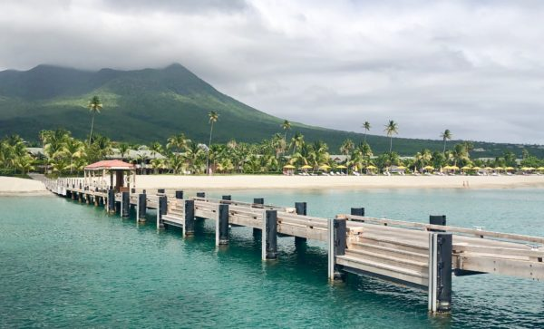 Private dock, Four Seasons Nevis