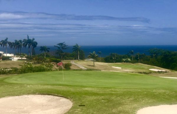 Golf course at the Four Seasons Nevis