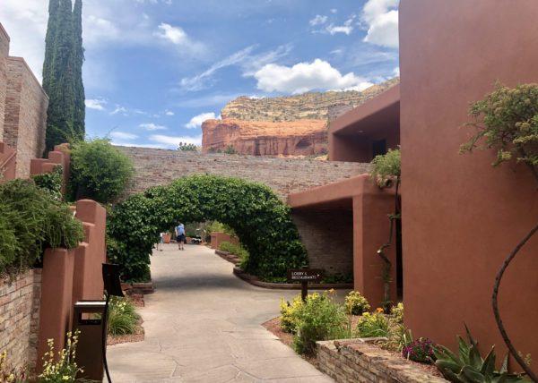 The grounds of Enchantment Resort, Arizona