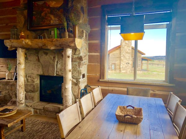 Dining room area, Zion Mountain Ranch
