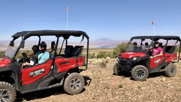 ATV tour, Vermilion Cliffs