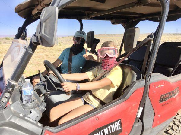 ATVing at Vermilion Cliffs