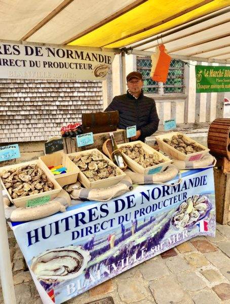 Honfleur oyster stand