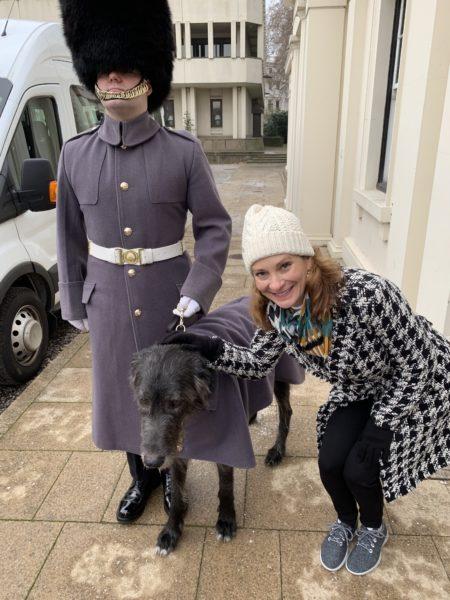 Queen's Guard mascot