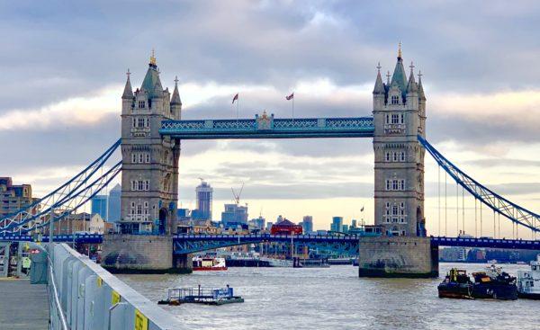 At the Tower Bridge, London