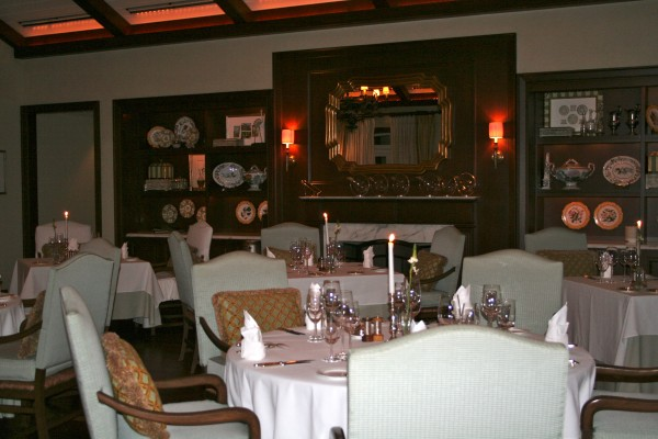Dining room at The Point