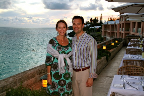 One of many beautiful evenings guests can enjoy at The Reefs