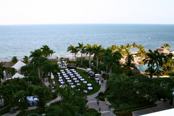 View from an Oceanfront Suite at the Ritz Carlton Key Biscayne