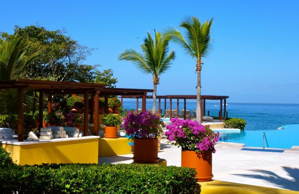 Poolside at the Four Seasons Punta Mita