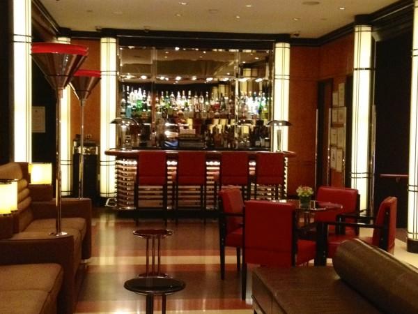 Lobby bar at The Chatwal