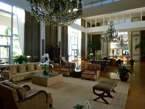 The Kahala's lobby