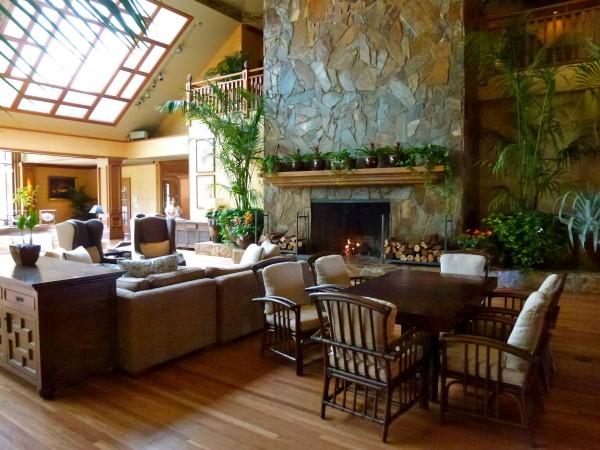 Lobby at Lodge at Koele