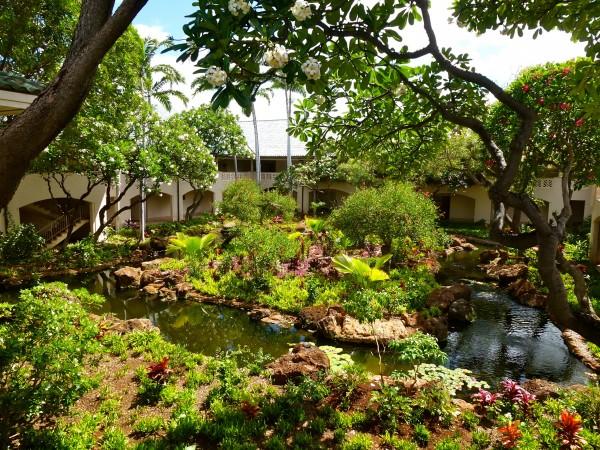 Grounds at Four Seasons Manele Bay