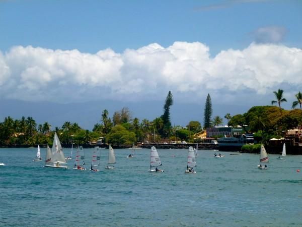 Lahaina harbor, Maui
