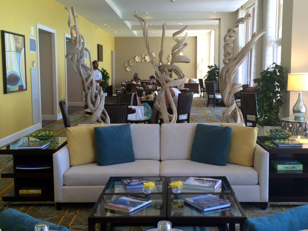 Ritz-Carlton Aruba Club Lounge
