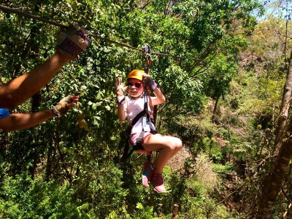 Punta Islita zip lining adventure