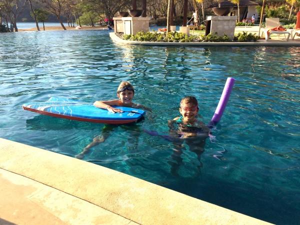 Dreams Las Mareas pool area