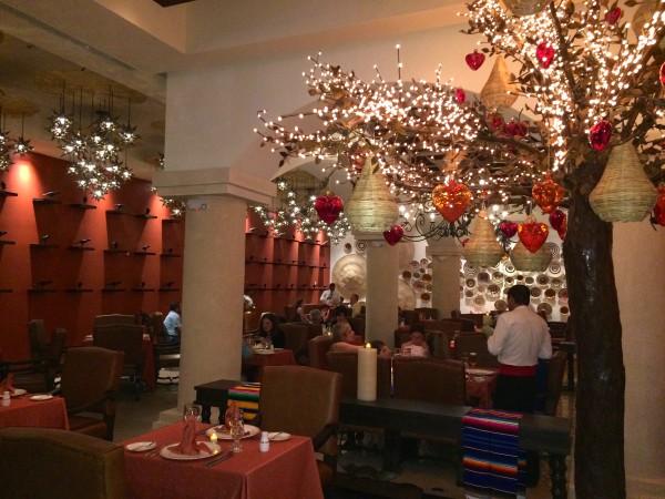 Mexican restaurant at Dreams Las Mareas