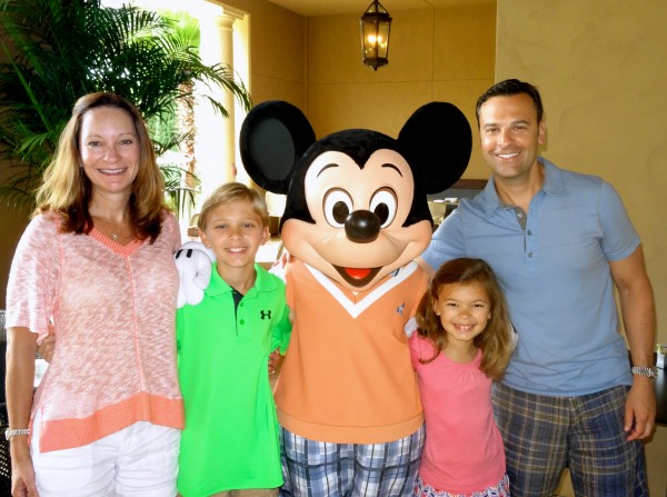 Character breakfast at the Four Seasons Orlando