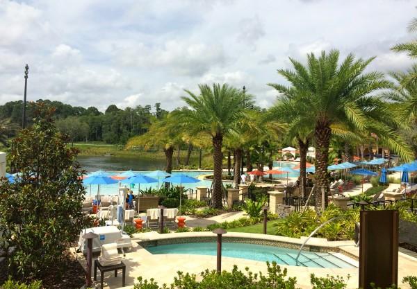 Pool area at Four Seasons Orlando