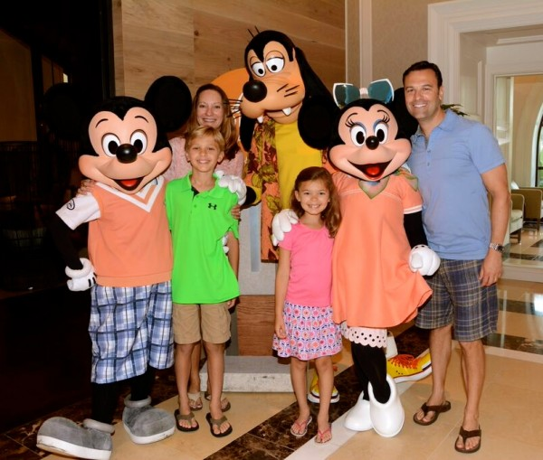 Four Seasons Orlando Disney characters