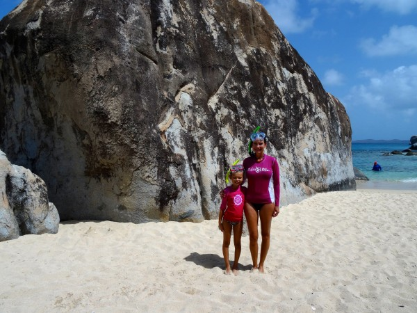 Great snorkeling at The Baths, Virgin Gorda
