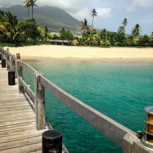 Four Seasons Nevis dock