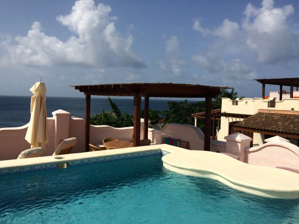 Cap Maison suite with rooftop pool