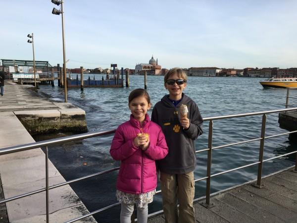 Venice gelato