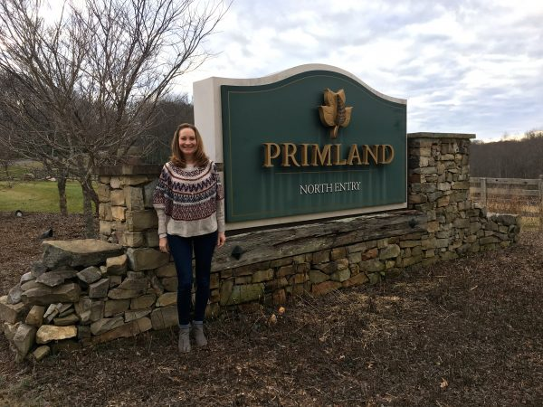 Primland's North Gate entrance