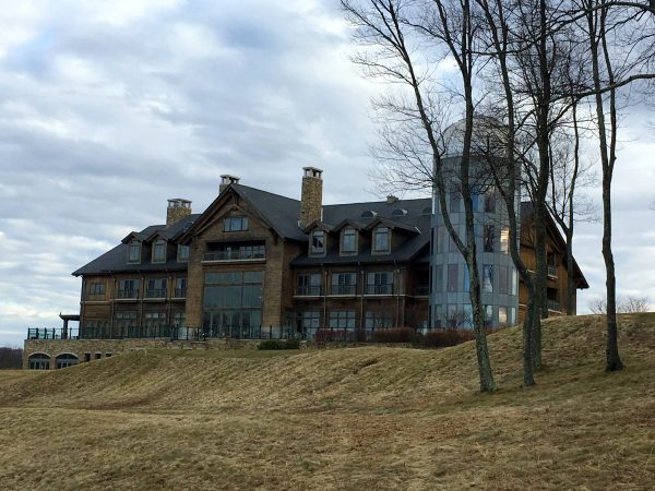 The main lodge at Primland