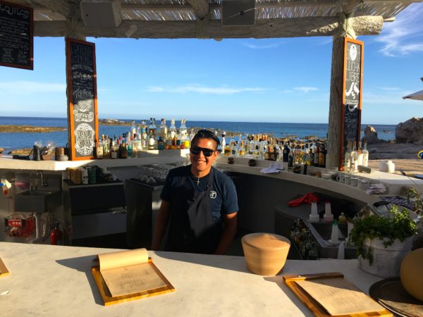 All smiles from the staff at Chileno Bay