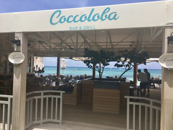 Coccoloba - dining with a view at Kimpton Seafire