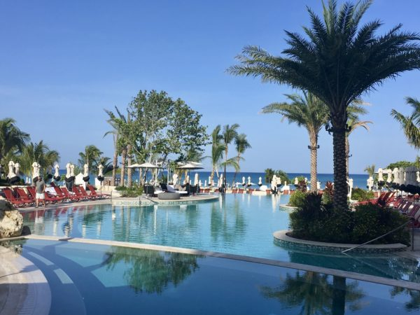 Main pool at Kimpton Seafire