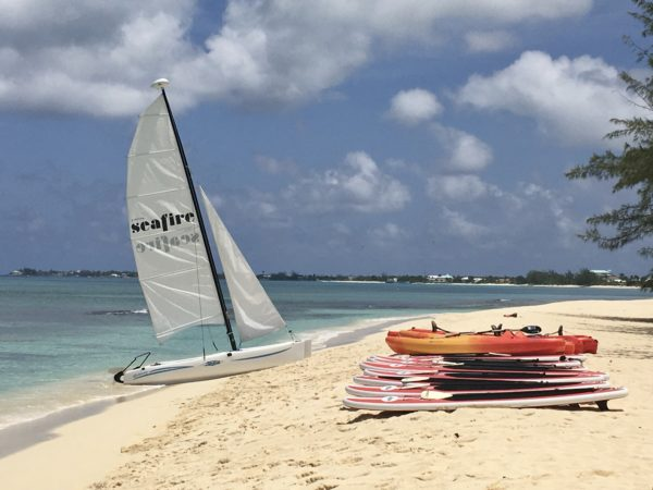 Kimpton Seafire watersports on the beach