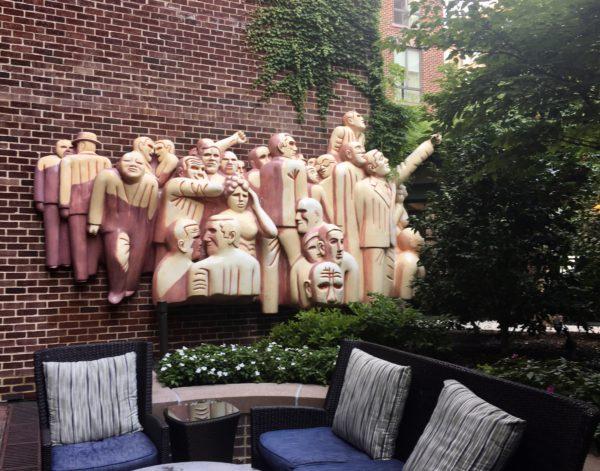 Artwork at the Four Seasons Washington, D.C.