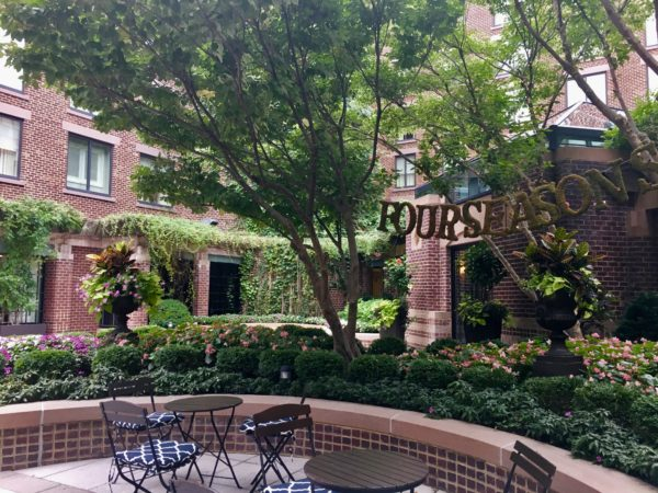 Charming patio area, Four Seasons Washington, D.C.