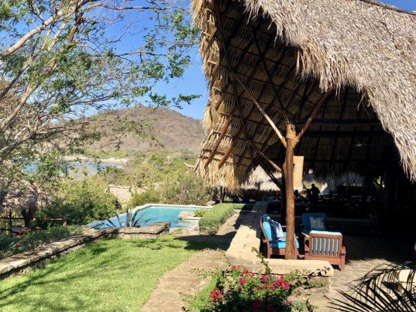 Main pool at Morgan's Rock, Nicaragua
