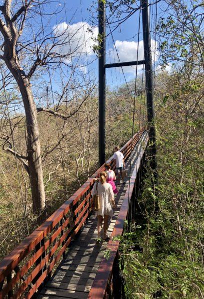 Suspension Bridge, Morgan's Rock