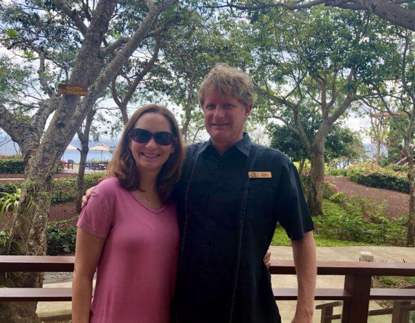Meeting the General Manager at Pacaya Lodge