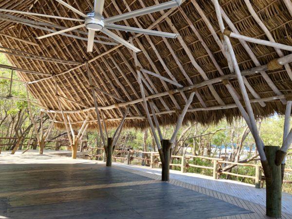 Morgan's Rock yoga pavilion