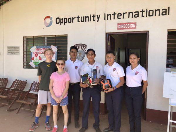 Visit to a local school near Pacaya Lodge
