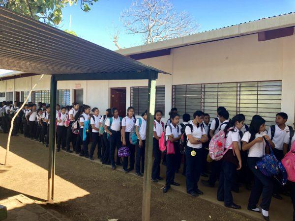 School near Pacaya Lodge