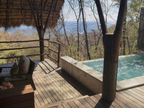 Plunge pool at Morgan's Rock, Nicaragua