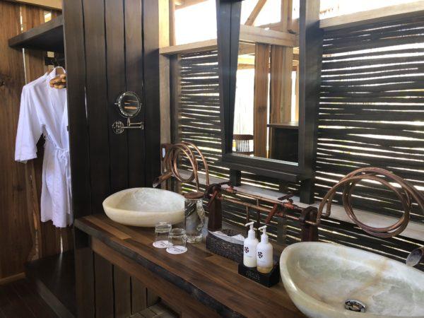 Unique bathroom, Morgan's Rock, Two Bedroom Villa with Pool